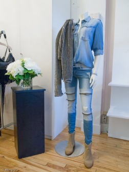 Zipper detailed jean!