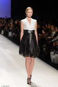 David Dixon Spring 2014 collection runway at World MasterCard Fashion Week Toronto