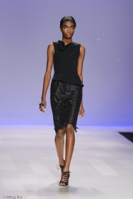 David Dixon Spring 2014 collection runway at World MasterCard Fashion Week Toronto