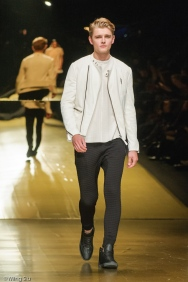 Mackage SS14 collection at World MasterCard Fashion Week Toronto