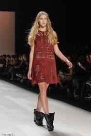 Sid Neigum Spring 2014 collection at World MasterCard Fashion Week Toronto
