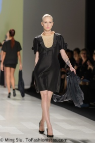 Tatsuaki Spring 2014 collection shown during World MasterCard Fashion Week Toronto