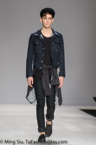 Thomas Bálint Spring 2014 collection shown at World MasterCard Fashion Week Toronto