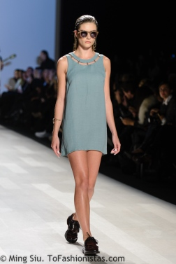 Beaufille Spring 2014 collection at World MasterCard Fashion Week Toronto
