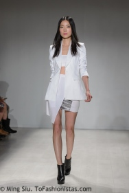 Cara Cheung Spring 2014 runway at World MasterCard Fashion Week Toronto