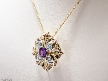 Autumn Blaze Pendant by Brian Charles from Mejuri Jewellery Launch Event