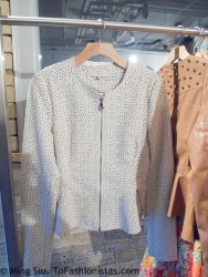 This perforated leather jacket!