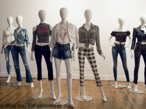 Highlights of GUESS' spring 2014 collection