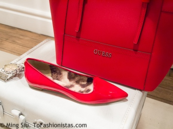 Love this mini red tote bag