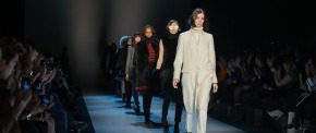 World MasterCard Fashion Week Fall 2014 – Pink Tartan